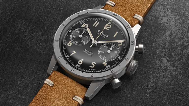 Airain brings back a chronograph once issued by the French Ministry of Defense
