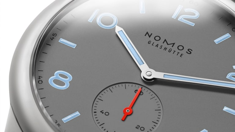 Nomos Glashütte releases the Club in an exclusive matte finish