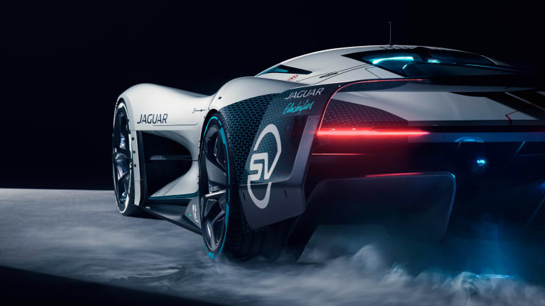Jaguar reveals the Vision Gran Turismo SV