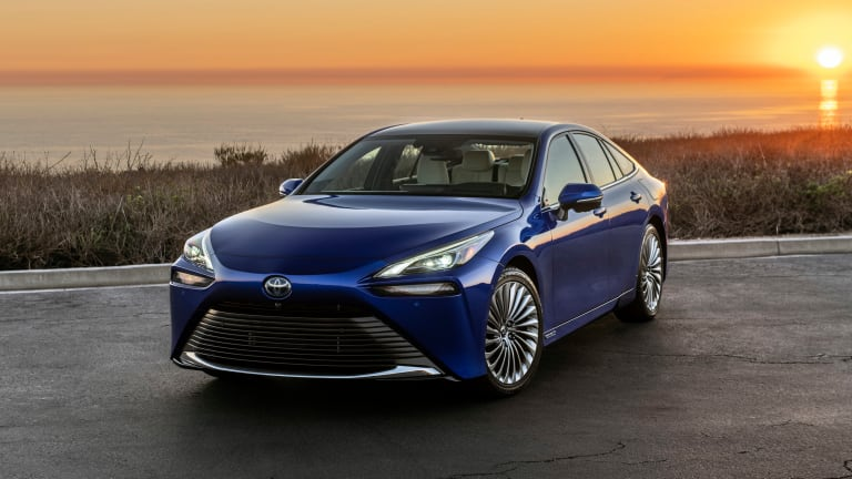 Toyota offers up a sleek, hydrogen-powered alternative to EVs with its second-generation Mirai