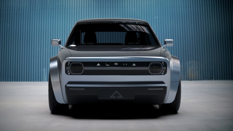 Alpha Motor Company wants to bring retro styling to the EV scene with their ACE coupe