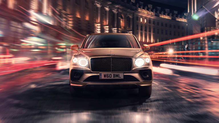 Bentley unveils the 2021 Bentayga Hybrid