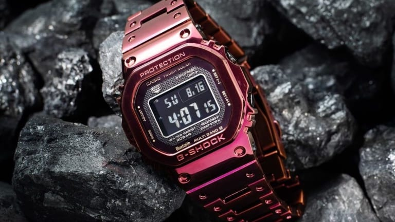 G-Shock reveals a new version of the Full Metal 5000 with a red finish
