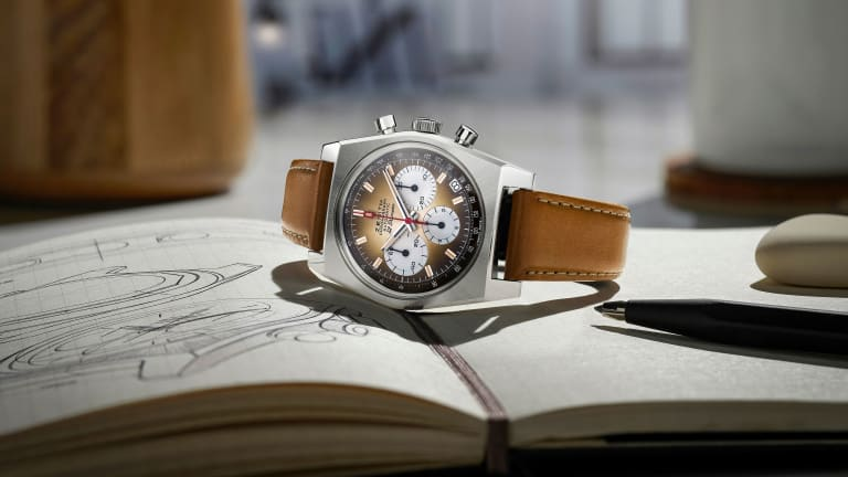 Zenith reissues one of the earliest El Primero chronographs with the Chronomaster Revival A385