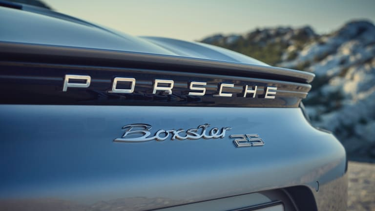 Porsche celebrates 25 years of the Boxster with a new limited edition