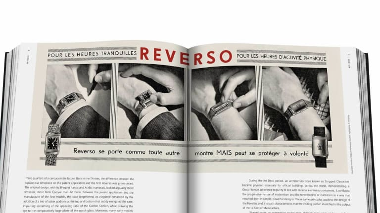 Jaeger-LeCoultre and Assouline cover 90 years of the Reverso in a new book