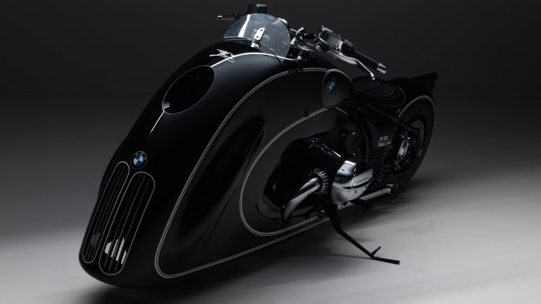 "The ""Spirit of Passion"" by Kingston Custom injects a bit of Art Deco into the BMW R 18"