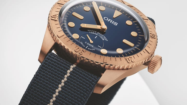 Oris unveils the Carl Brashear Calibre 401 Limited Edition