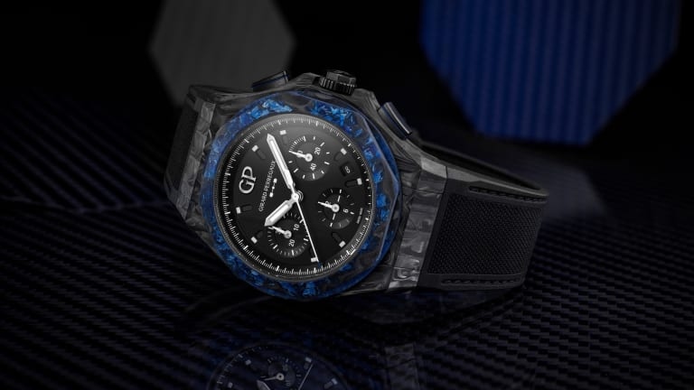 Girard Perregaux launches a new Laureato with a Carbon Glass case
