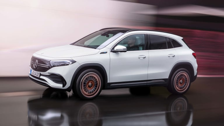 Mercedes-Benz launches its new entry-level EV, the EQA
