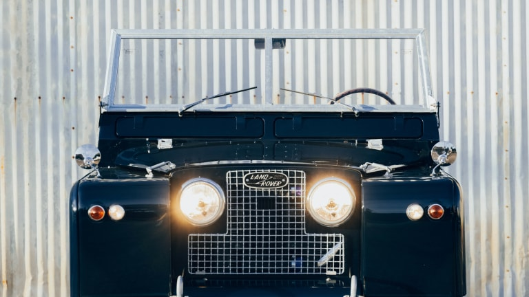 Himalaya and Taylor Stitch reveal their upgraded 1970 Land Rover Series IIA