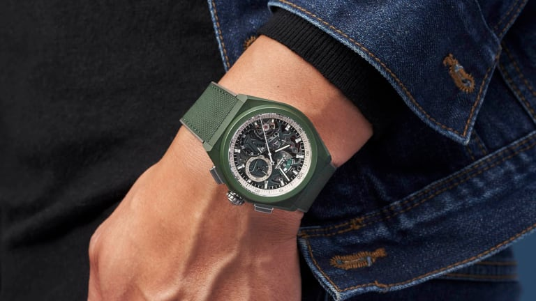 Zenith releases the Defy 21 in a new khaki green finish