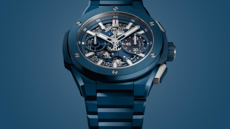 Hublot expands its Big Bang Integral range with three new ceramic color options