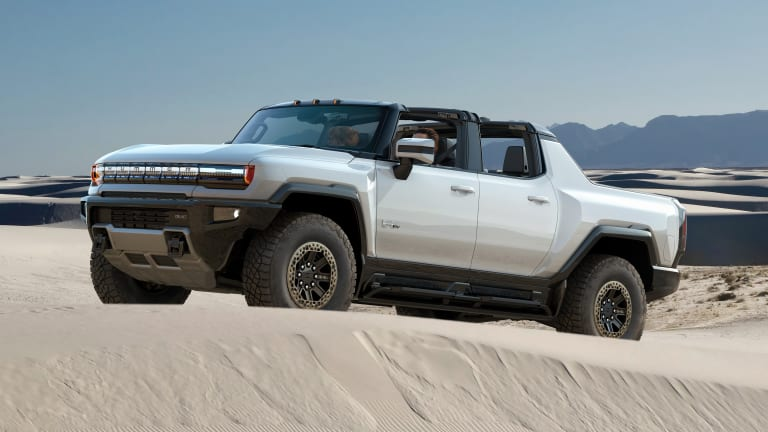 Barrett Jackson is selling the first retail production GMC Hummer EV