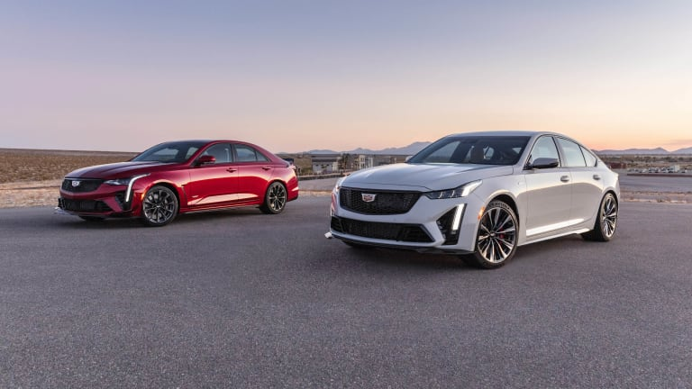 Cadillac unveils the CT4-V and CT5-V Blackwing