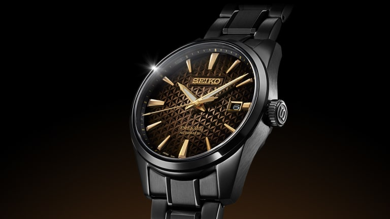 Seiko translates the sunlight at dawn into a new limited edition for their 140th anniversary
