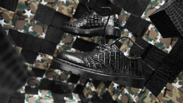 Sophnet. and End. blend luxury and utility for their collaboration with Dr. Martens