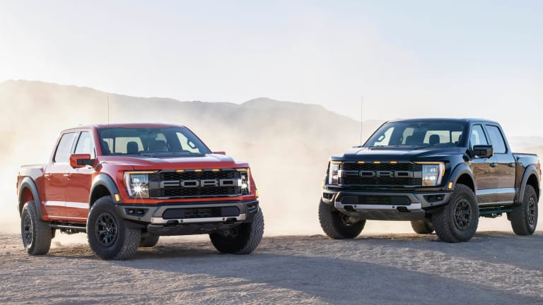 Ford unveils the 2021 F-150 Raptor