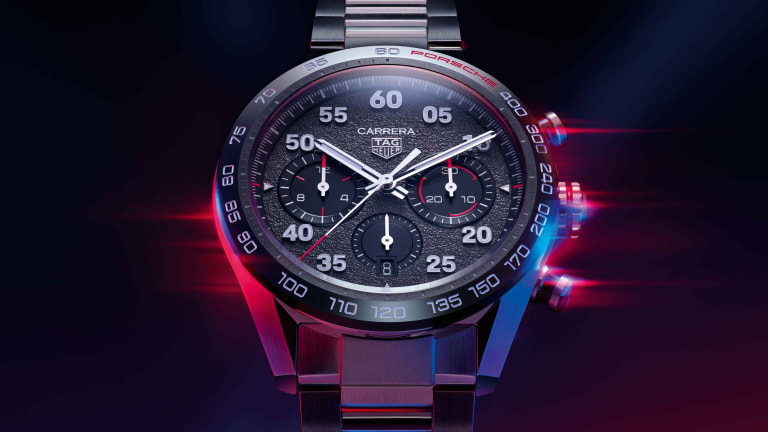 Tag Heuer and Porsche finally team up on an official timepiece