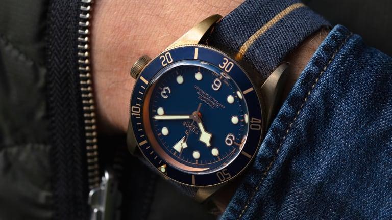 Tudor brings the Bucherer-exclusive Black Bay Bronze Bucherer Blue to the US