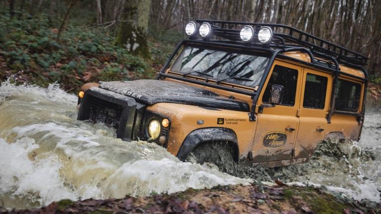 Land Rover Classic reveals the Defender Works V8 Trophy
