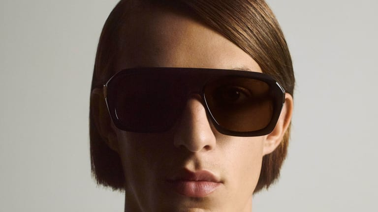 Dunhill draws from its archival designs and British pop culture icons for its Spring 2021 eyewear collection
