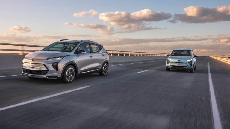 Chevrolet unveils the 2022 Bolt EV and EUV