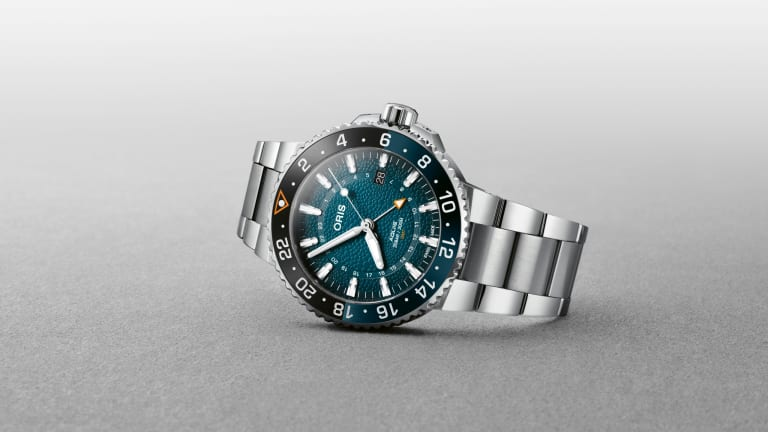 Oris turns its attention to the endangered whale shark for its new limited edition
