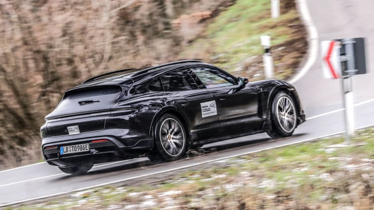 Porsche previews its upcoming Taycan Cross Turismo