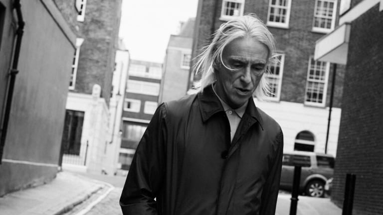 Paul Weller debuts his collection with Sunspel