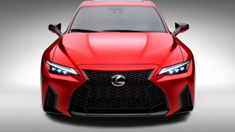 Lexus unveils the V8-powered IS 500 F Sport Performance