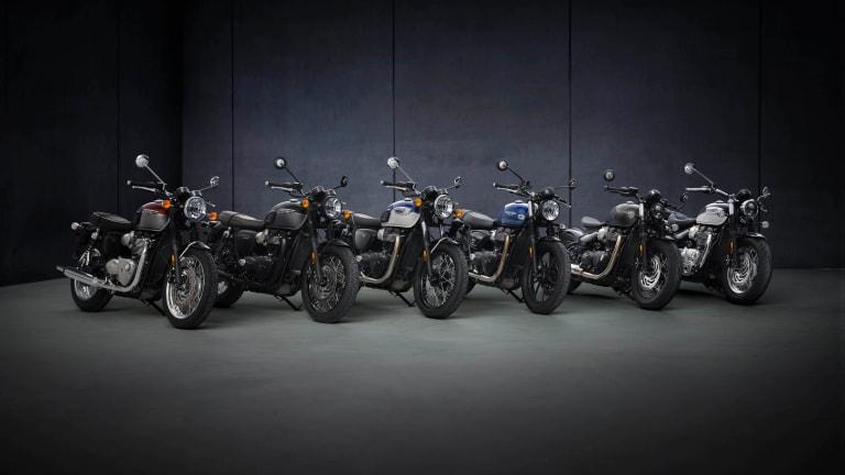 Triumph updates its entire Bonneville lineup for 2021