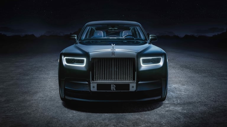 Rolls-Royce brings the outer reaches of space into a new limited edition Phantom