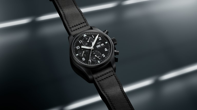 """IWC takes it back to 1994 with its limited edition Pilot's Watch """"Tribute to 3705"""""""