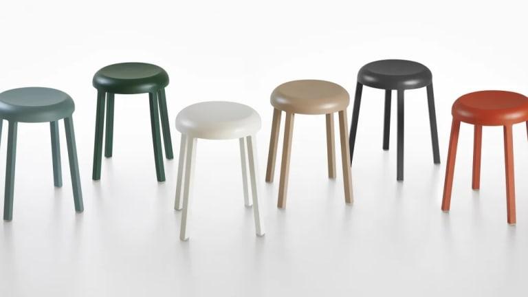 Naoto Fukusawa designs a new recycled aluminum stool for Emeco