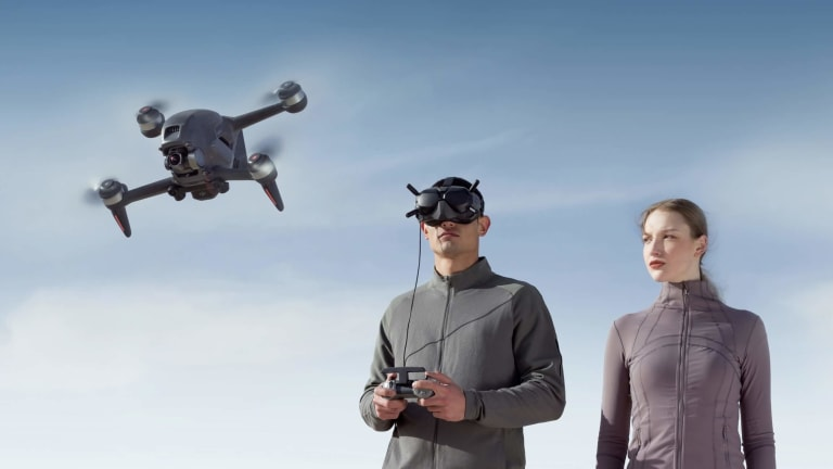 DJI launches its first FPV drone