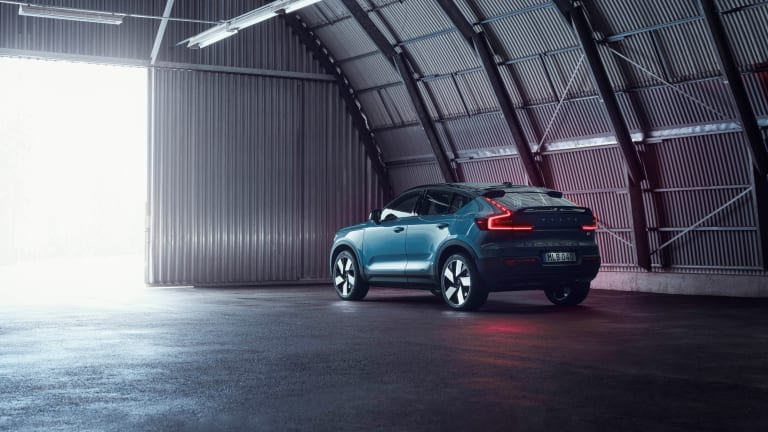 Volvo reveals its second all-electric model, the C40 Recharge