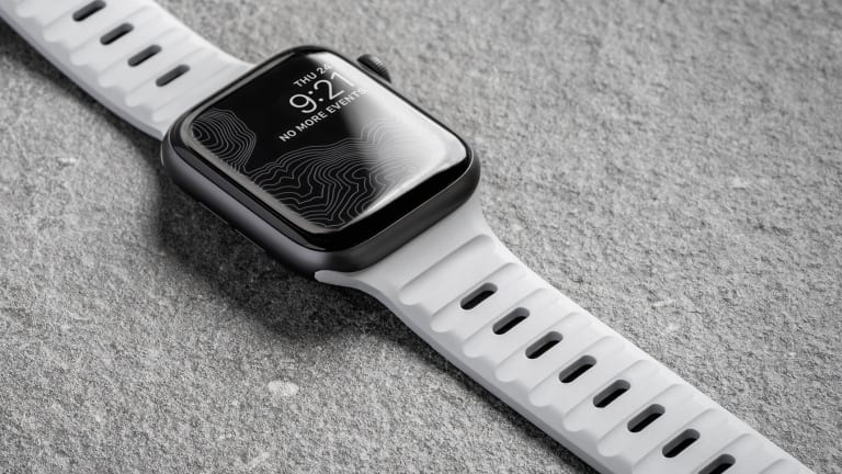 Nomad updates one of the best sport straps for the Apple Watch in Lunar Gray