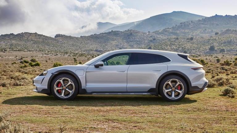 Porsche unveils the Taycan Cross Turismo
