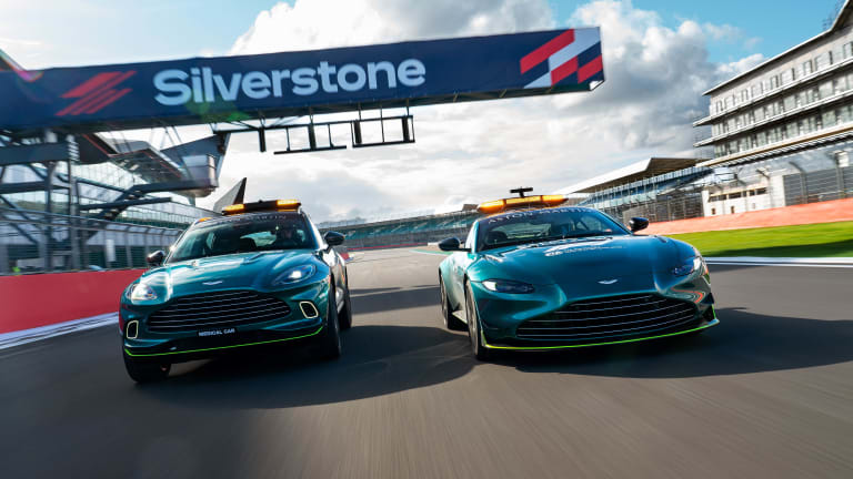 Aston Martin sets the pace for F1 with the reveal of their Official Safety Car