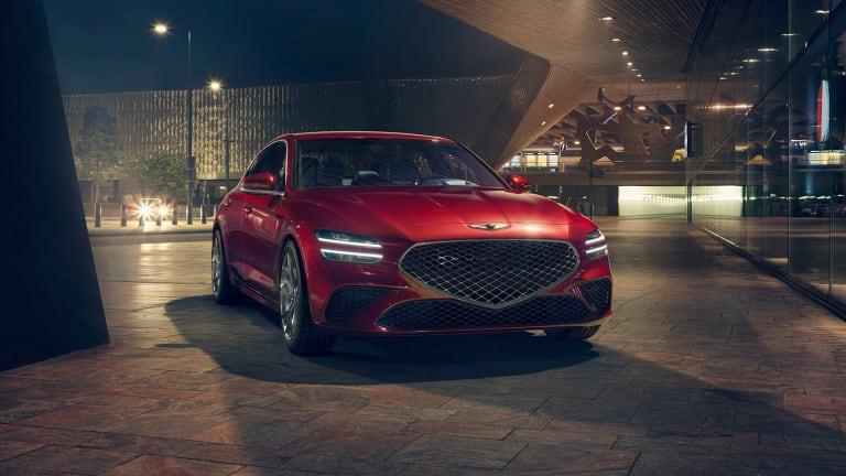 Genesis reveals more details on the 2022 G70 sport sedan