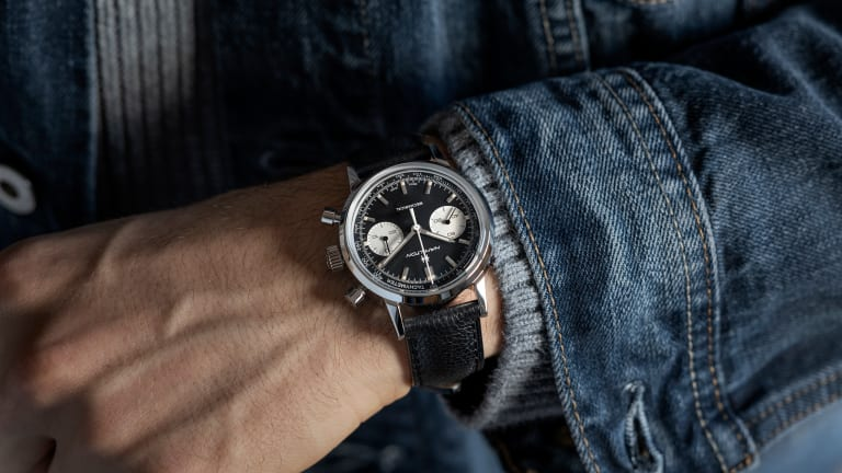 Hamilton updates its Intra-Matic line with the hand-wound Chronograph H