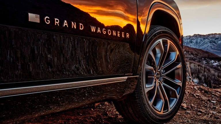 Jeep resurrects the Wagoneer nameplate with a new flagship luxury SUV