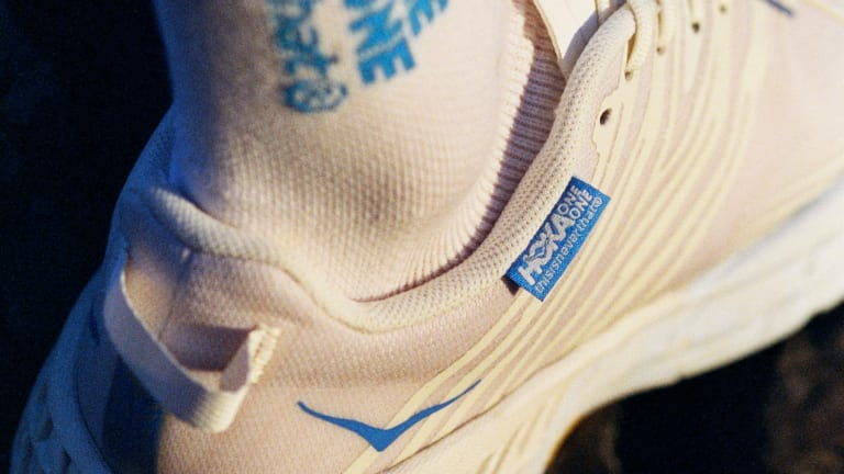 Hoka reveals its limited edition capsule with Seoul-based streetwear brand thisisneverthat