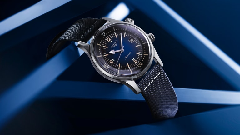 Longines updates its Legend Diver Watch with two new colorways