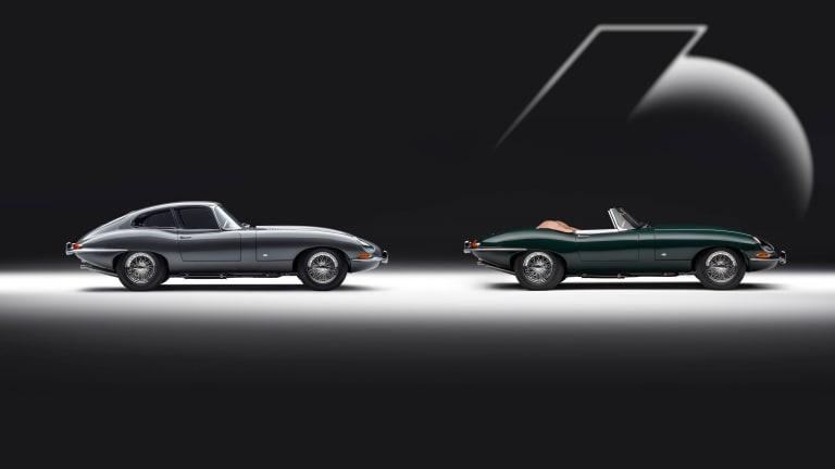 Jaguar reveals the E-type 60 Collection