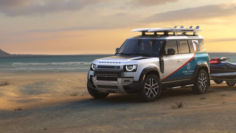 Land Rover has launched a new initiative to award customized Defenders for US-based non-profits