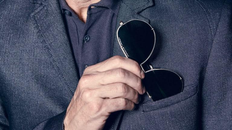 Porsche Design brings an iconic eyewear detail to their new Hooks Series