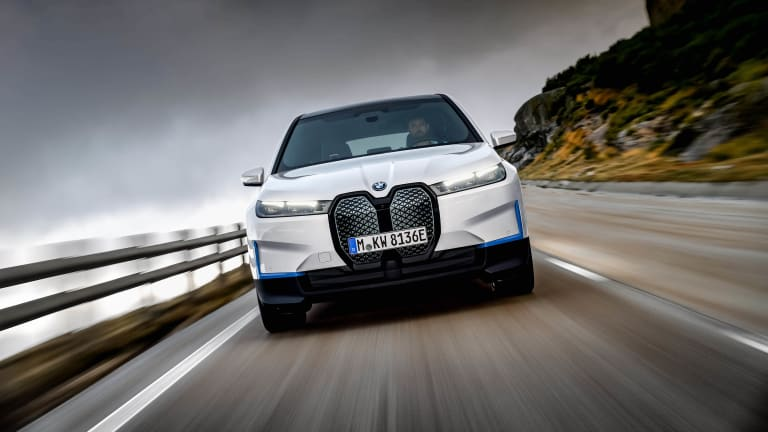 BMW delivers a closer look at its upcoming iX electric SUV