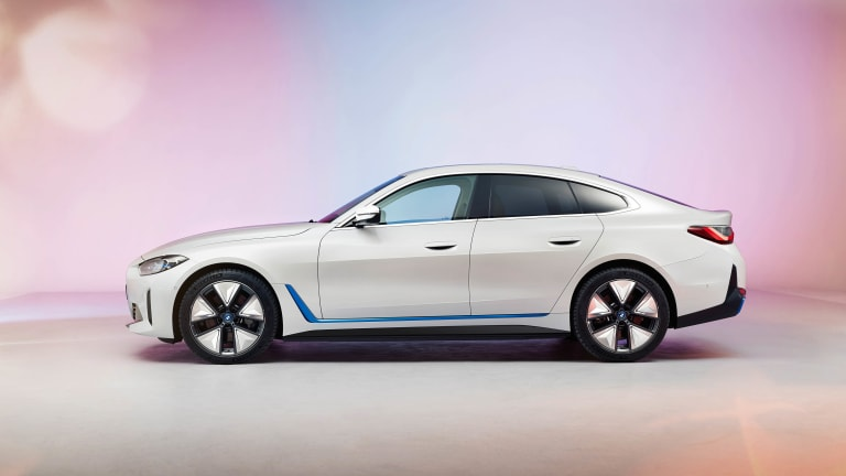 BMW previews the production version of the i4